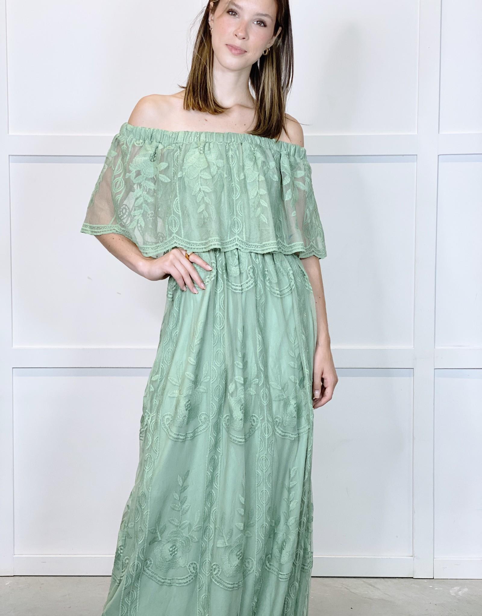 HUSH MIA maxi dress