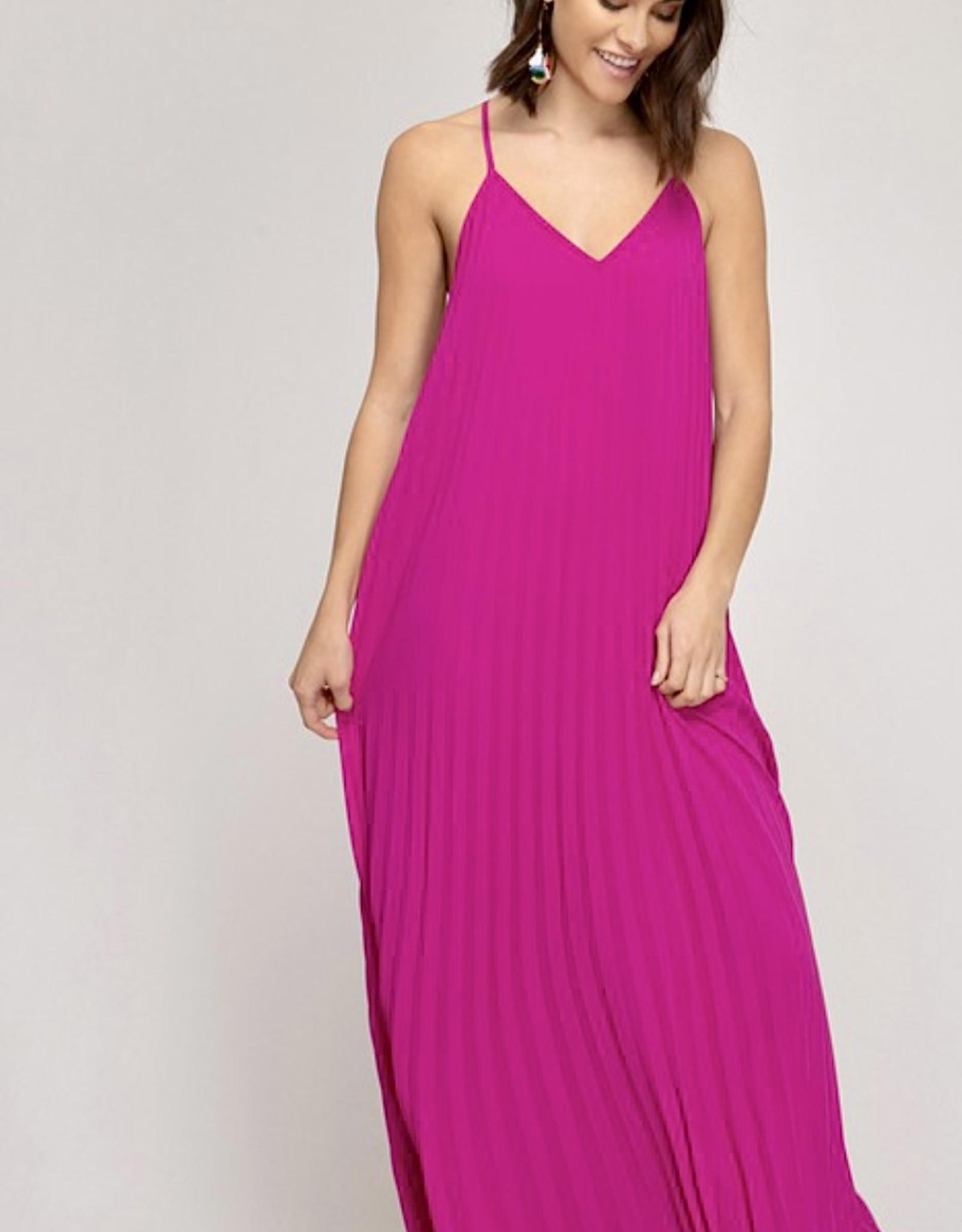 HUSH ORLI maxi dress