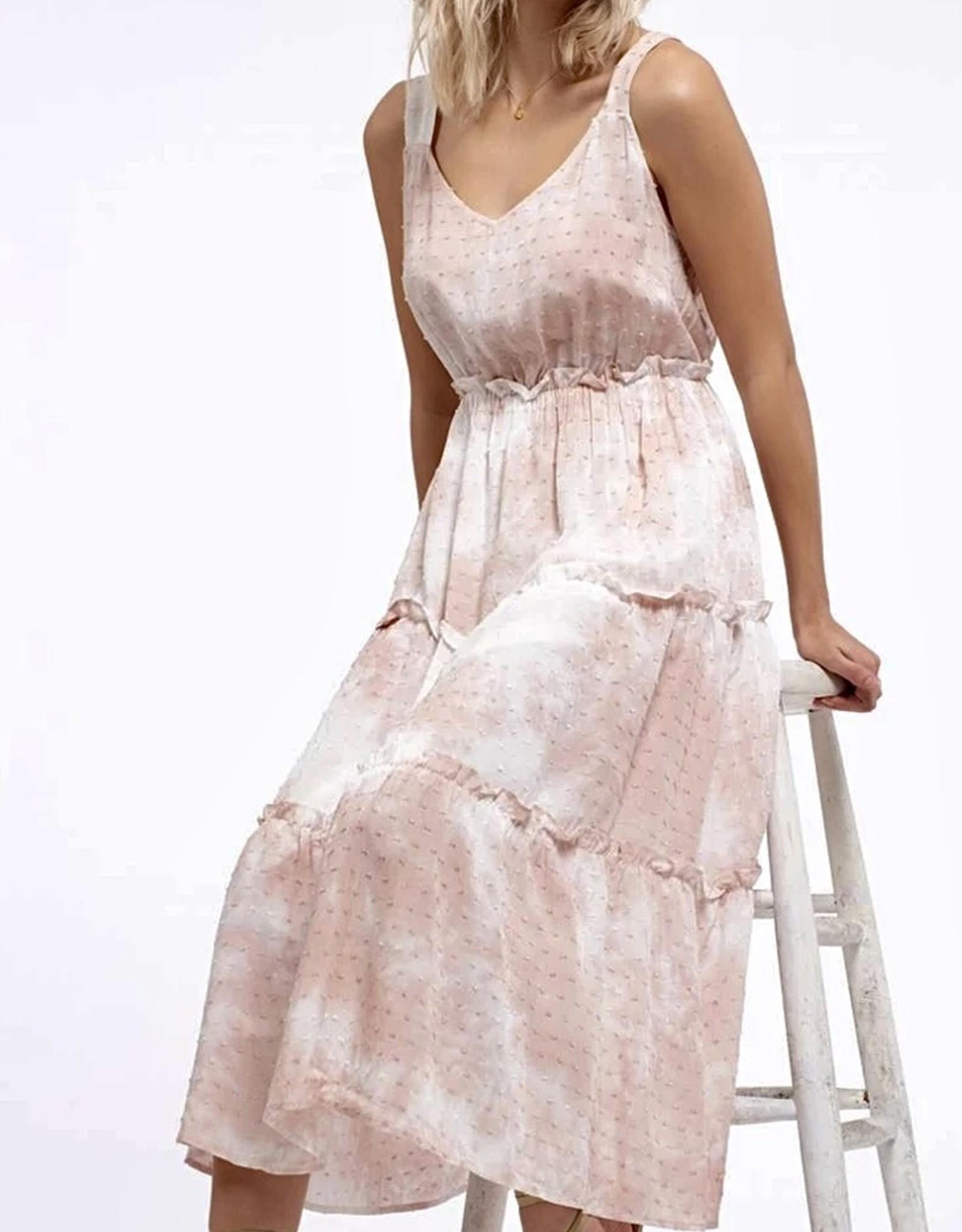 HUSH RUTHIE midi dress