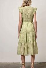 HUSH RAEGAN midi dress