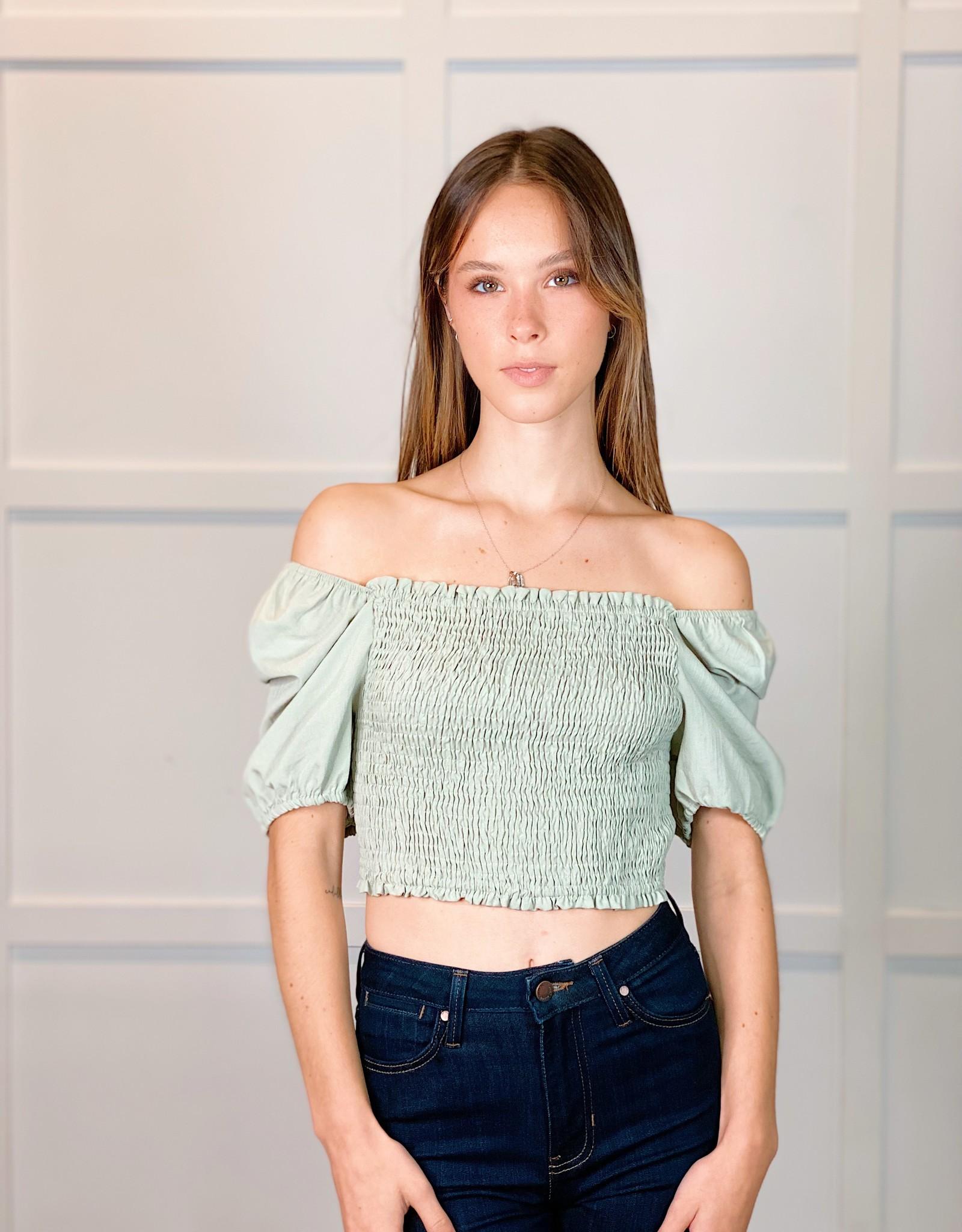 HUSH POPPY blouse