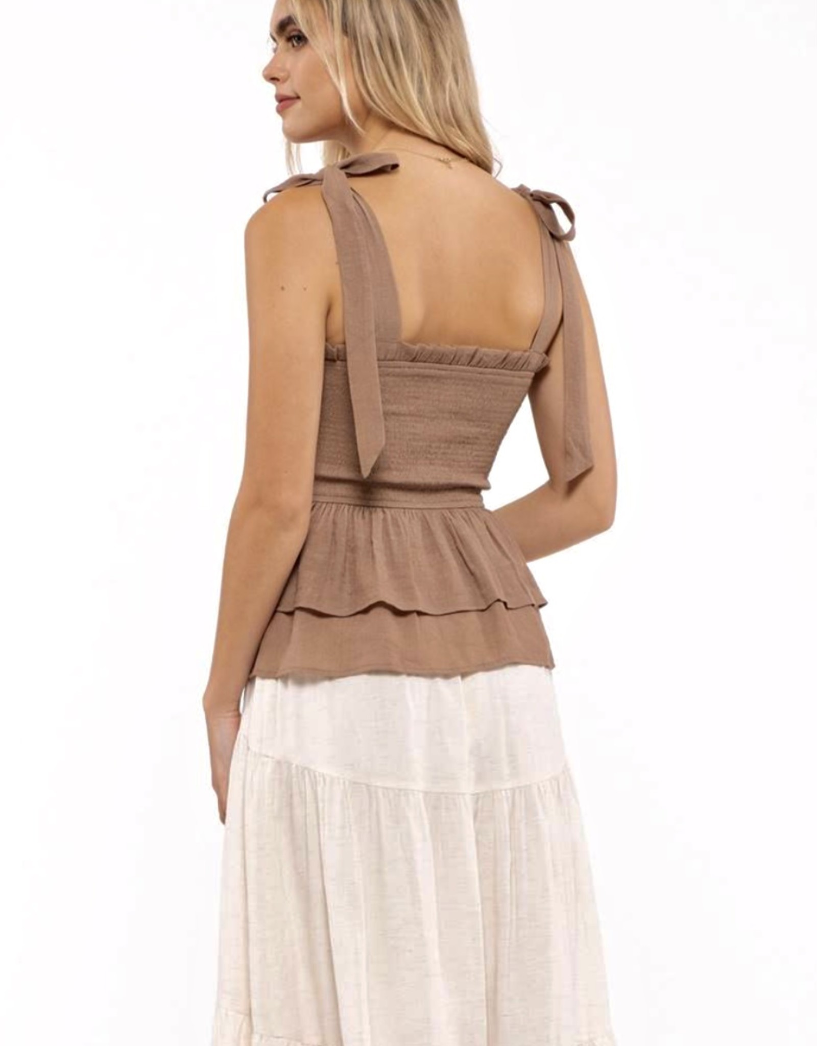 HUSH WILMA tiered top