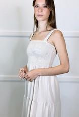 HUSH WHITLEY midi dress