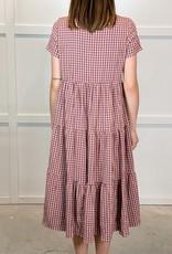 HUSH TRISHA midi dress