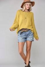 HUSH ARIA pullover sweater
