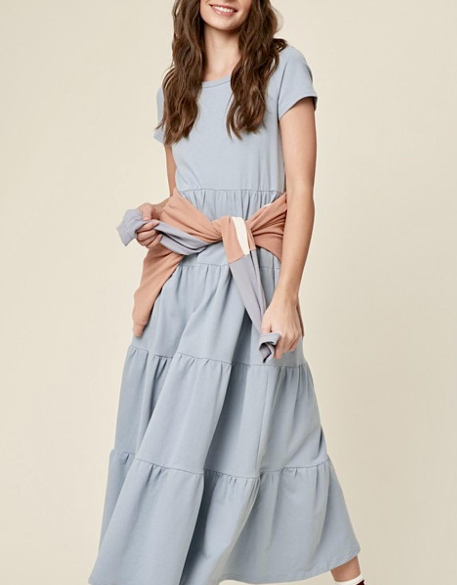 HUSH WILLOW midi dress