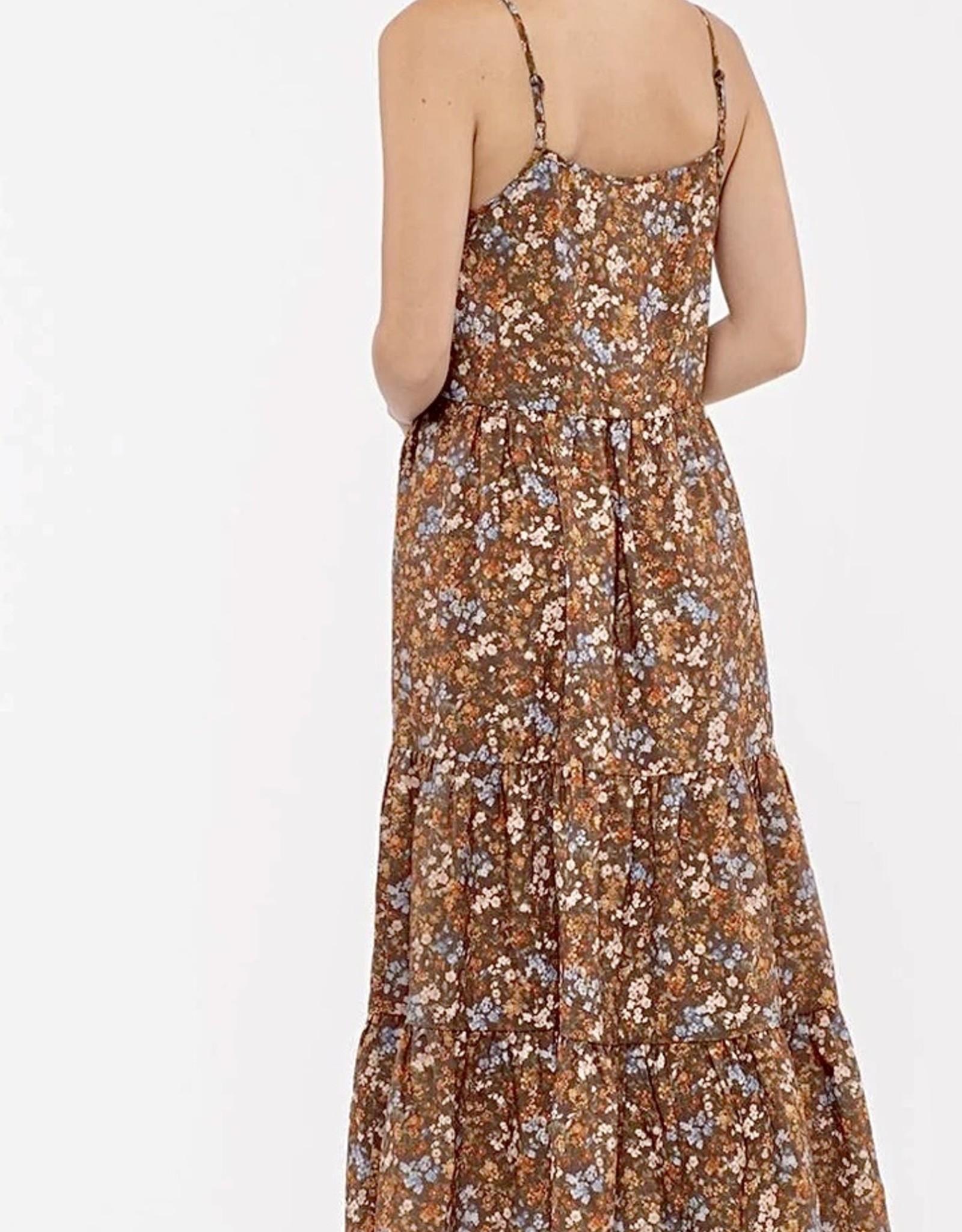 HUSH BRIELLE midi dress