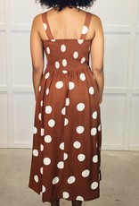 HUSH BLAKELY midi dress