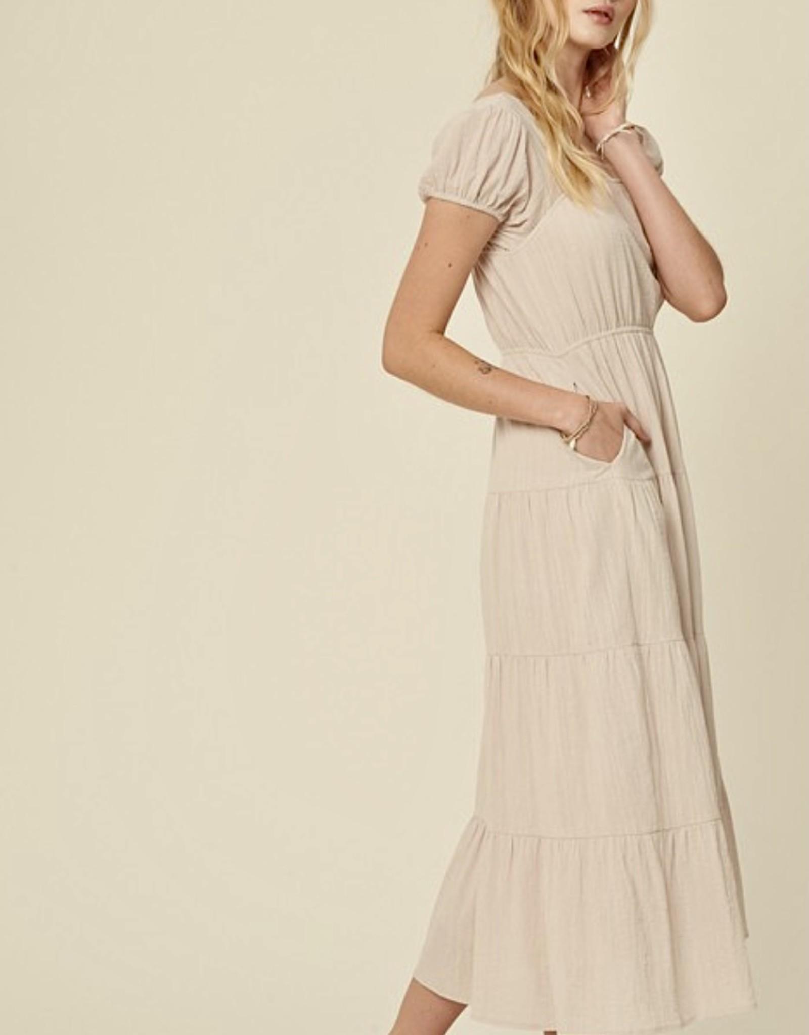 HUSH ZARA maxi dress