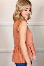 HUSH CADENCE blouse