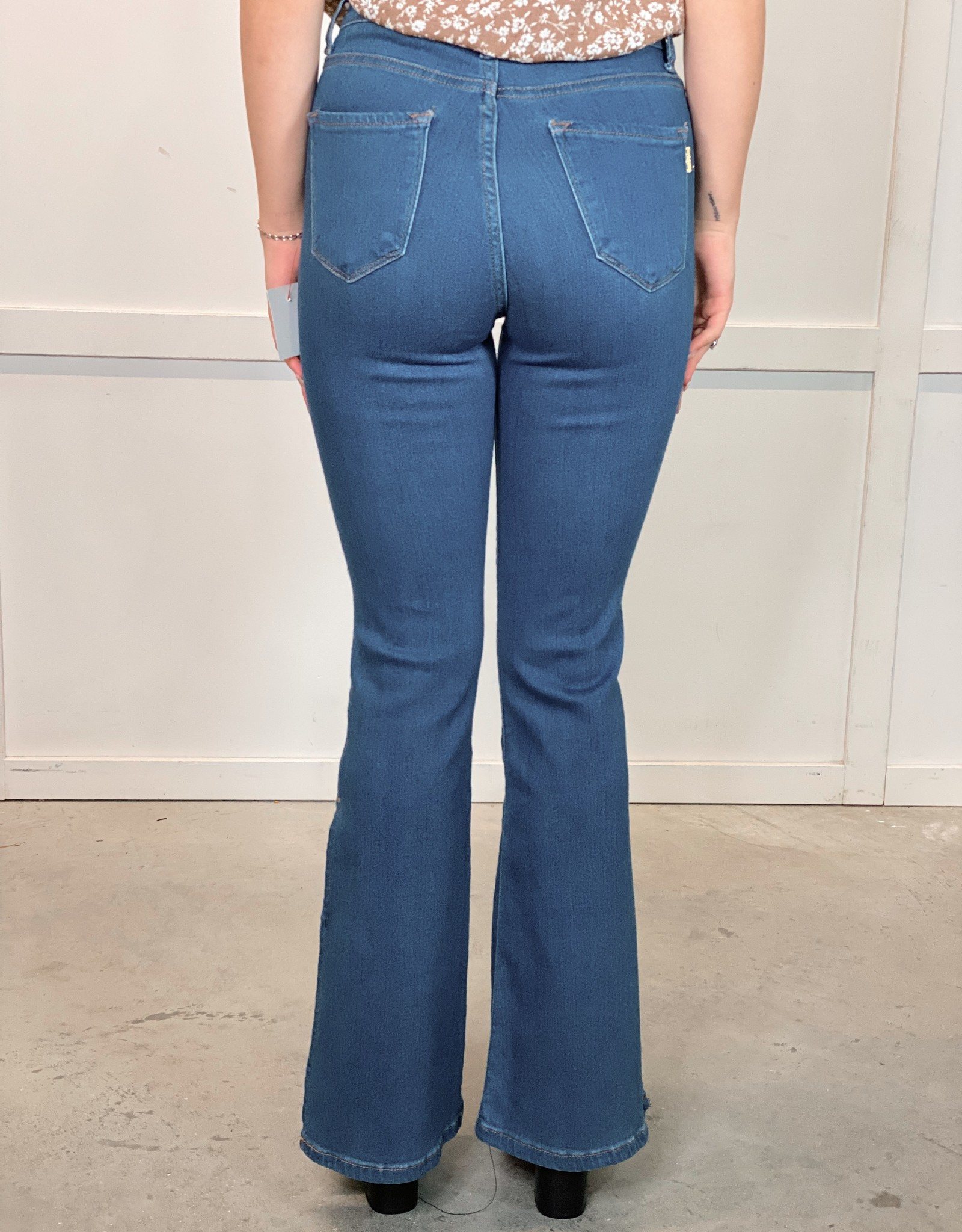 HUSH ANNE flared jeans