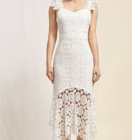 HUSH CAPRICE midi dress