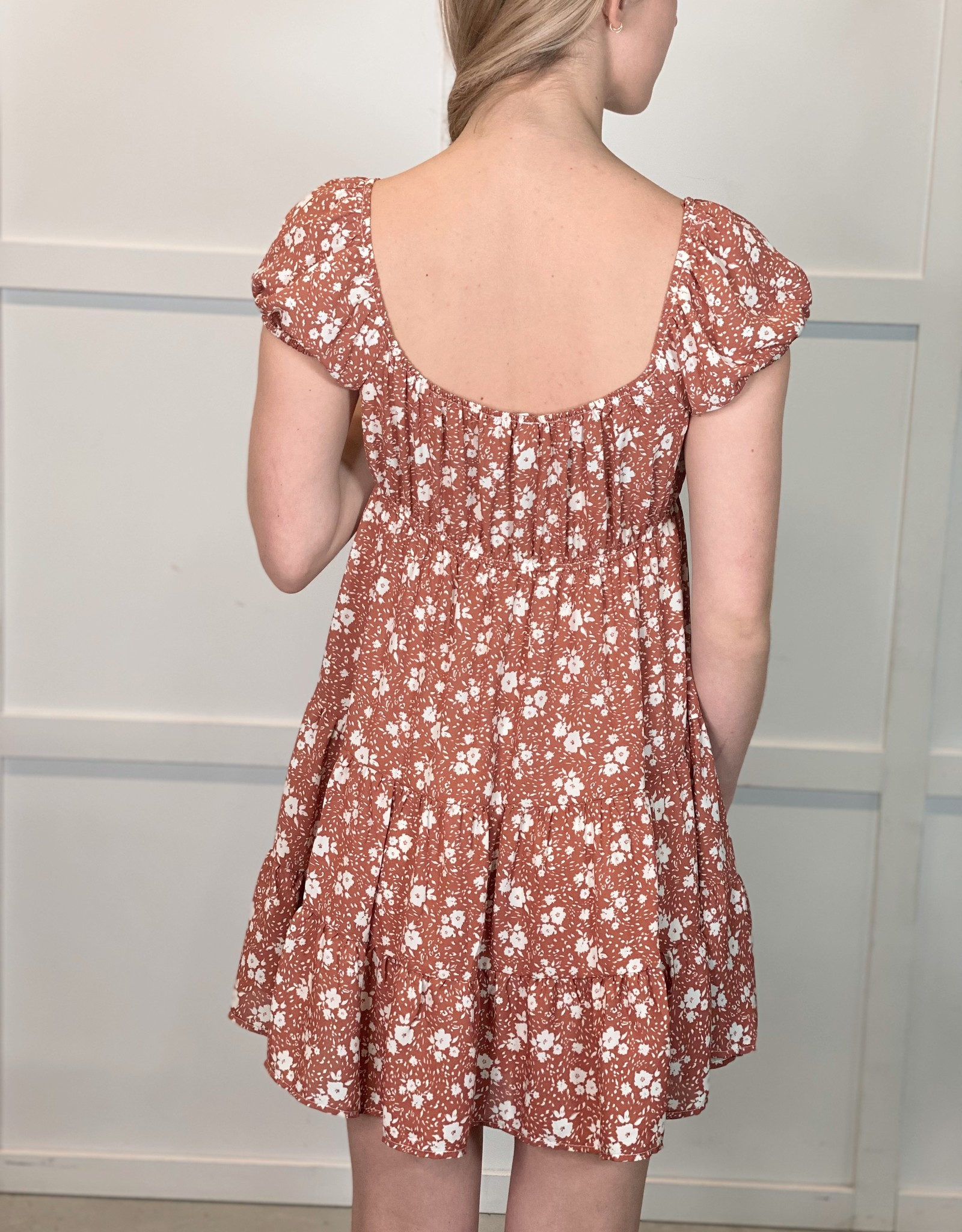 HUSH CARINA floral dress