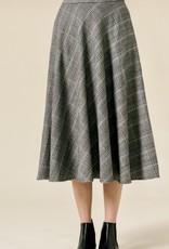 HUSH CINDY midi skirt