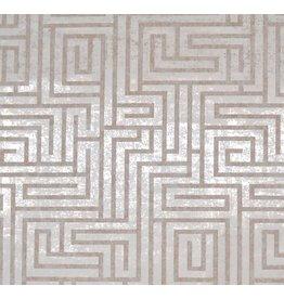A-Maze Wallpaper - White/Tan