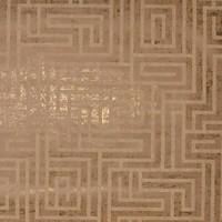 A-Maze Wallpaper - Gold