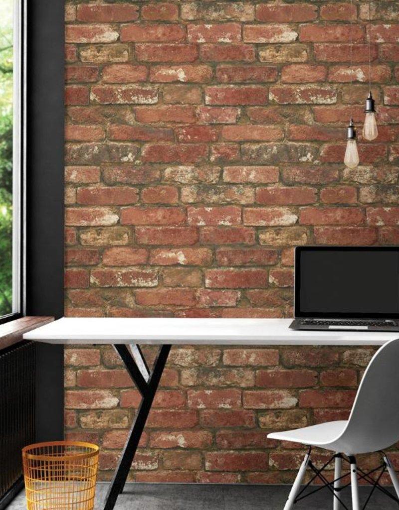 West End Red Brick Peel Stick Wallpaper Decor2go Wall Fashion