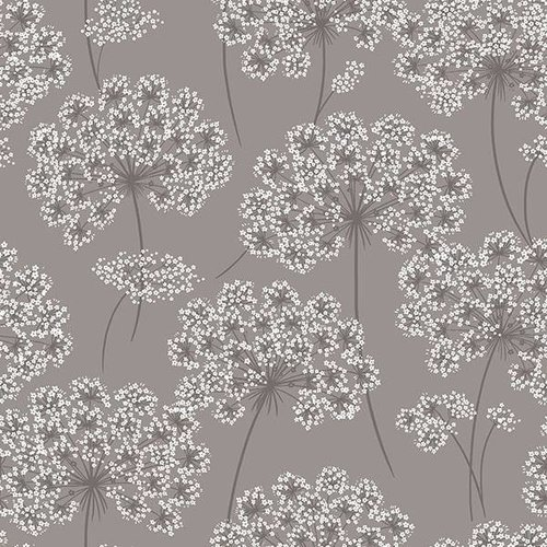 Angelica Grey Peel & Stick Wallpaper