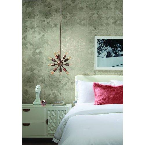 A-Maze Wallpaper - Natural Cork