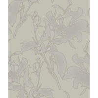 Botanical Silhouette Taupe