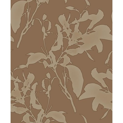 Botanical Silhouette Copper