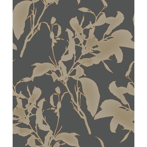 Botanical Silhouette Black/Copper