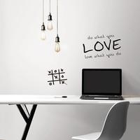 Dry Erase Peel & Stick Wallpaper
