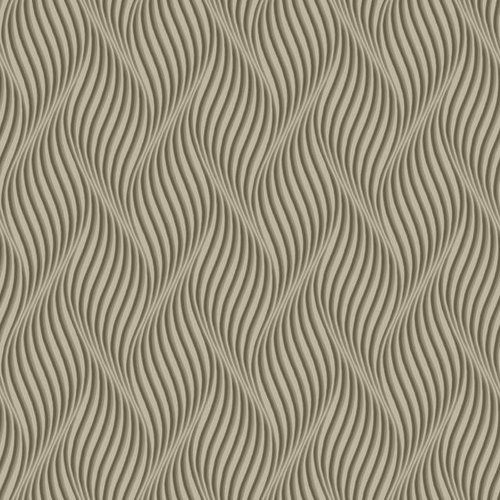 Groovy Wallpaper - Taupe