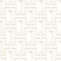 Facet Geo Wallpaper - White