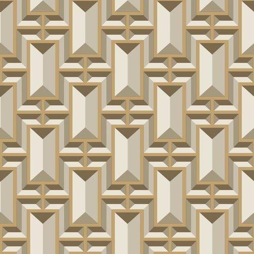 Facet Geo Wallpaper - Gold