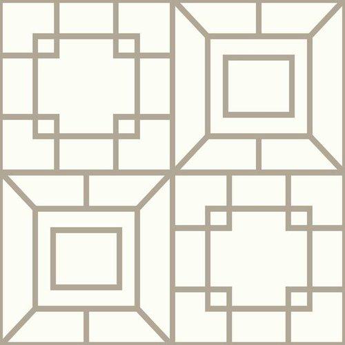 Theorem Wallpaper - Warm Silver