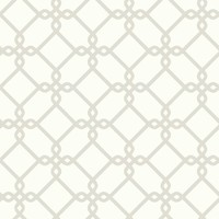 Threaded Links Wallpaper - Pearl