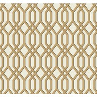 Garden Pergola Wallpaper - Gold