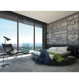 Chalk Quotes Wall Mural