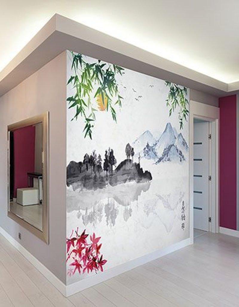 japanese lake wall mural decor2go wall fashionjapanese lake wall mural