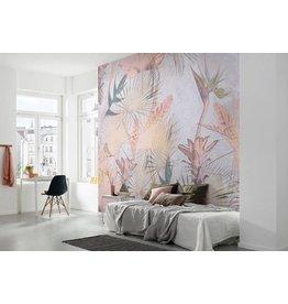 Tropical Concrete Wall Mural