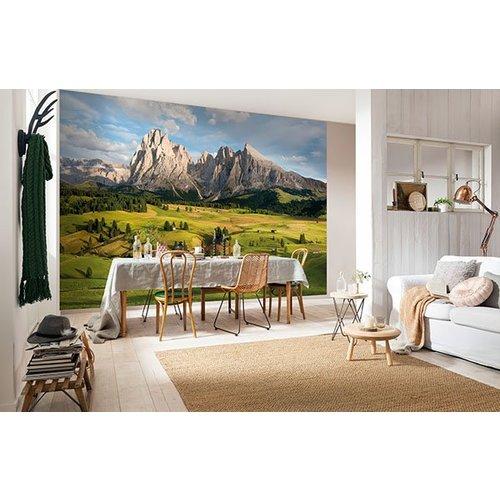 Alpen Mural