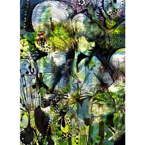Aphrodites Garden Wall Mural
