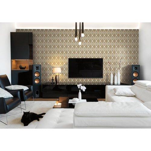 Garden Pergola Wallpaper - Gold
