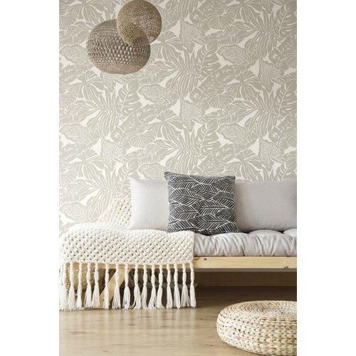 Valdivian Wallpaper - Silver