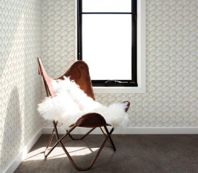 Frances Wallpaper - Gold