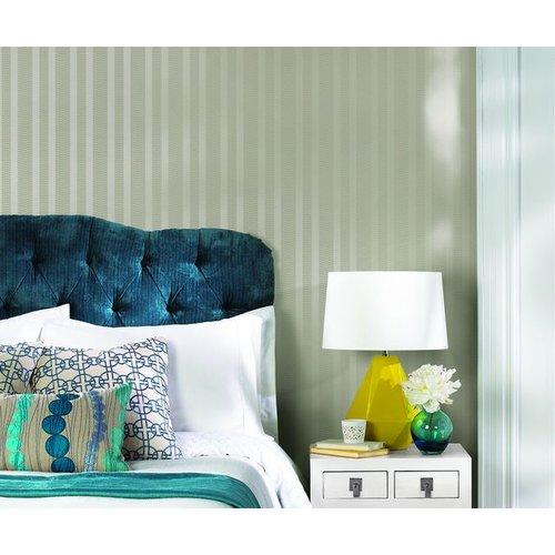 Dart Stripe Wallpaper - Taupe