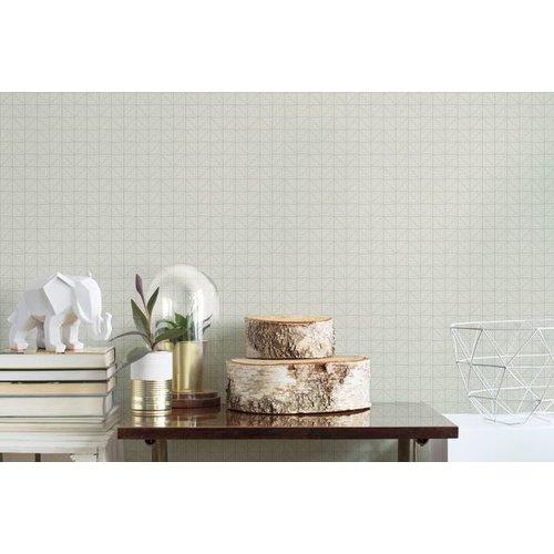 Archer Wallpaper - Gray