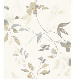 Linden Flower Wallpaper Tan