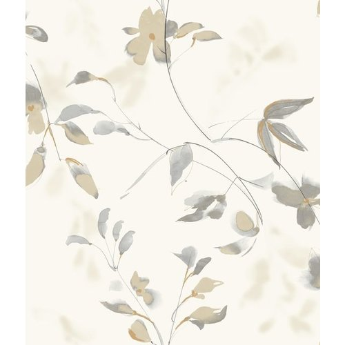 Linden Flower Wallpaper Tan