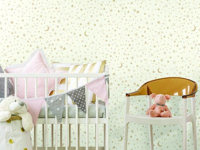 Twinkle little star - White/Gold