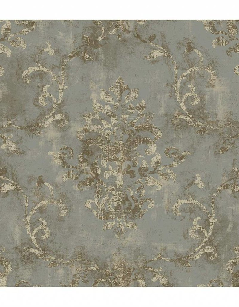 Fine Wallpaper Stunning Silver Pattern