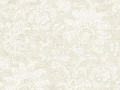 Fine Wallpaper Soothing Beige and Silver