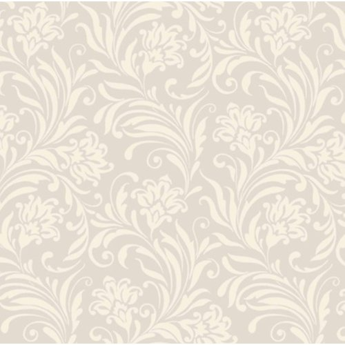 Fifth Ave Silver and White Swirls