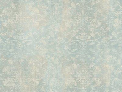 Fine wallpaper Soft Blue and Splashed White